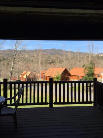 White Oak Lodge & Resort: View from balcony