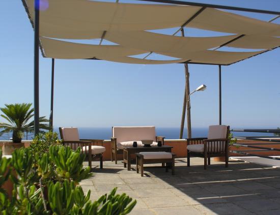 Villa Maroulas Annonce du Propriétaire : Roof terrasse with sea view 140m2 (1506 sqft)