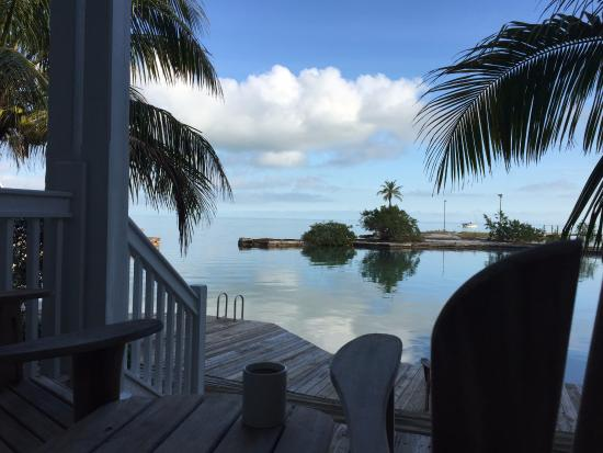 Tranquility Bay Beach House Resort: View from the deck of #83
