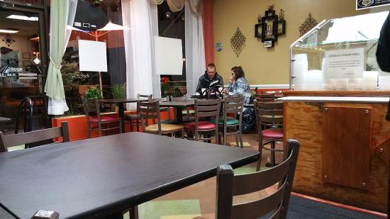 Seating Area at Charlie's Kabob Grill