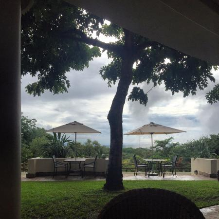 Ilala Lodge: view from the restaurant