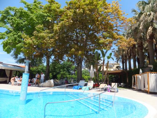 Sant'Agnello, Italien: Pool area