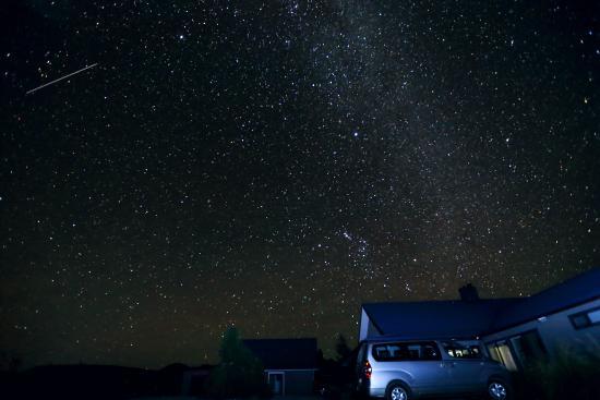 Twizel, نيوزيلندا: Night Sky at Matuka Lodge