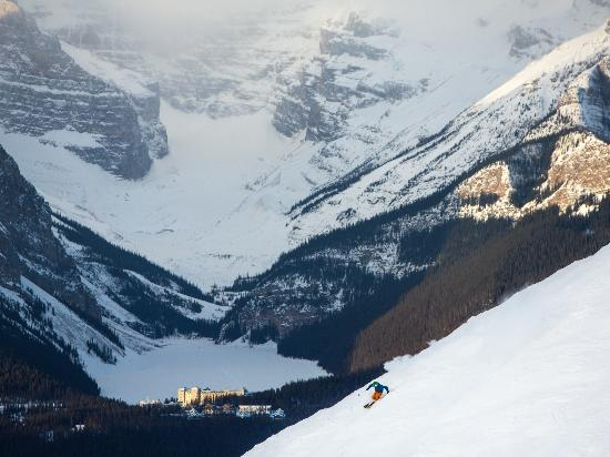 Banff National Park, Canada: Lake Louise Ski Resort