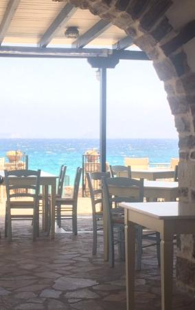 Moutsouna, Grecia: vue sur la mer