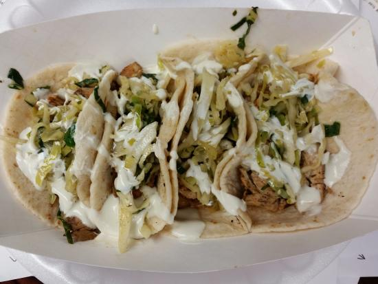 Asian Chicken Tacos Picture Of Yardbirds Food Truck Cookeville