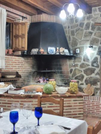 Casarejos, Spain: Parrilla.