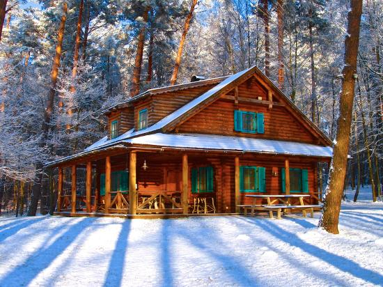 hunting cottage in winter house picture of dwor sosnowo milakowo rh tripadvisor co nz