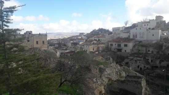Sinasos Palace Cave Hotel: Otelin genel manzarası