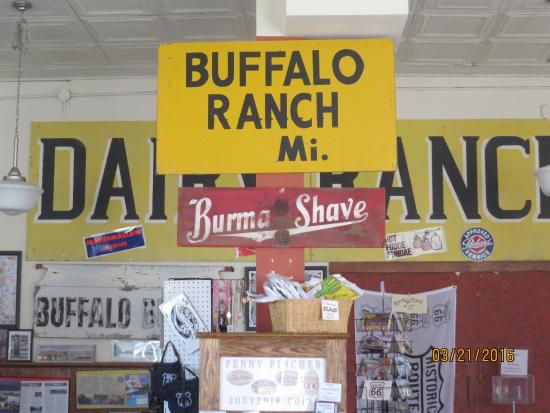 old signs from route 66 picture of afton station packard museum rh tripadvisor com