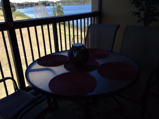 balcony looking over lake picture of the berkley orlando rh tripadvisor ie