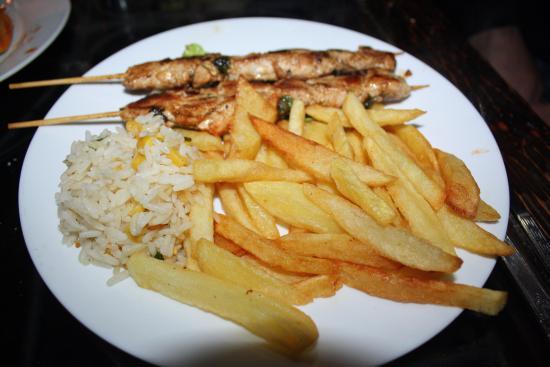 Al-Kasbah Restaurant : Pinchos de pollo