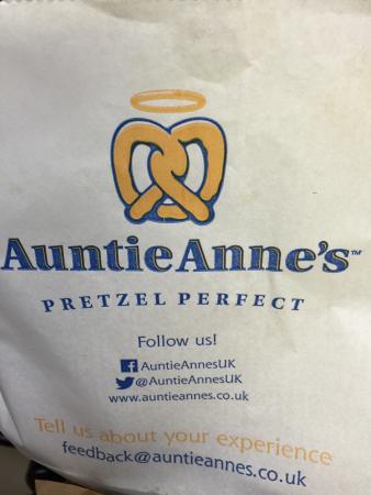 standard auntie anne menu review of auntie annes ilford england rh tripadvisor com