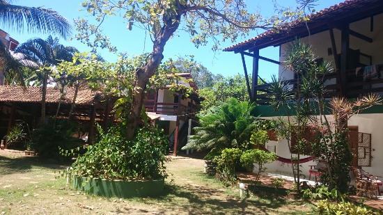 Pousada Girassol: Vista do Jardim da Pousada