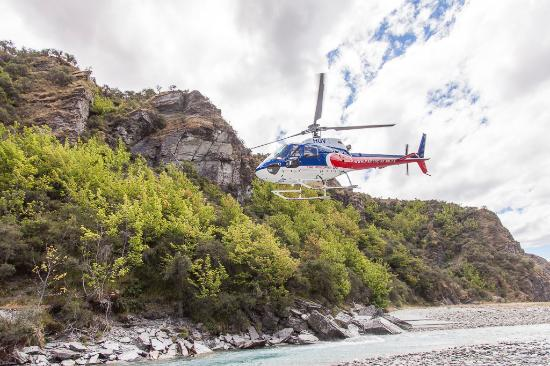 Queenstown Combos: Heli With Challenge Rafting