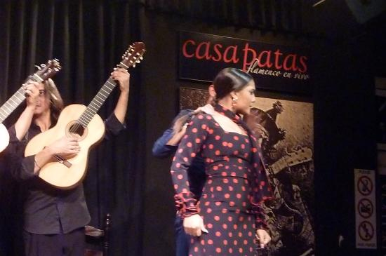 bailaora picture of casa patas flamenco en vivo madrid tripadvisor. Black Bedroom Furniture Sets. Home Design Ideas
