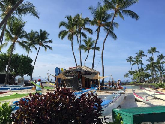 Lobby Of The Courtyard King Kamehameha Kona Beach Hotel Picture Of