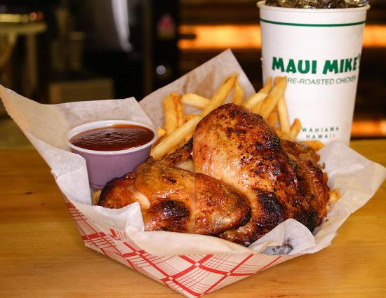Maui Mike S Fire Roasted Chicken Kailua 1020 Keolu Dr