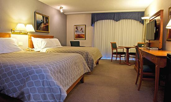 Hotel Castel & Spa Confort: Chambre Hospitalité 2 lits Queen