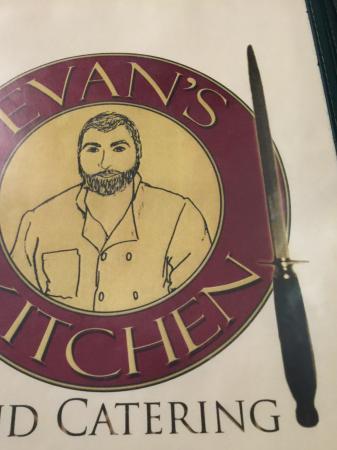Perfect Evanu0027s Kitchen: Menu Cover