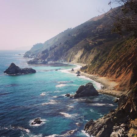Julia Pfeiffer Burns State Park: such a beautiful seaside
