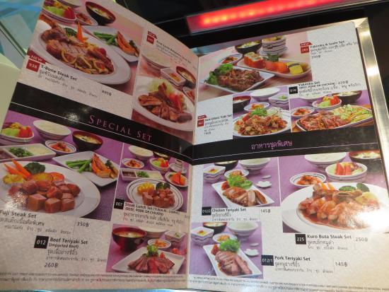 Little Bangkok Restaurant Menu