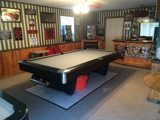 Berry Patch Bed and Breakfast: Game room!