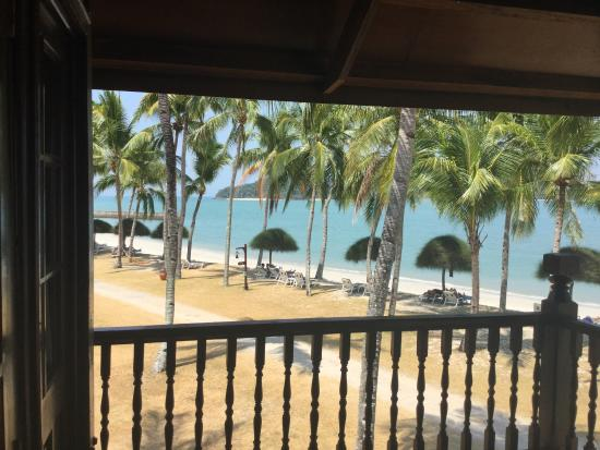 Amazing View From Beach Front Chalet Picture Of Meritus Pelangi Beach Resort Spa Langkawi