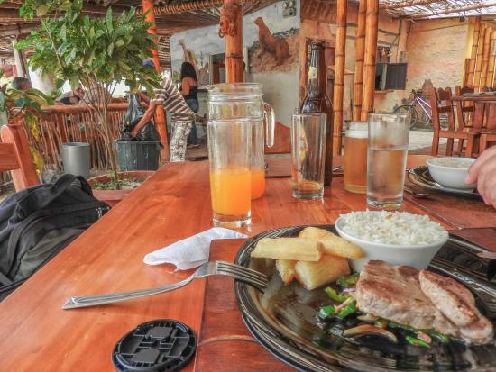 Unser Tuna Steak am 22.3.2016 im El Faro