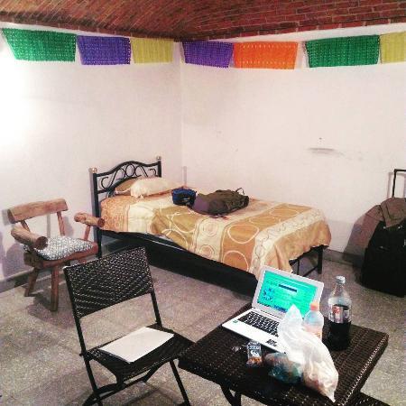 Adelita Language School: My single room at the school.