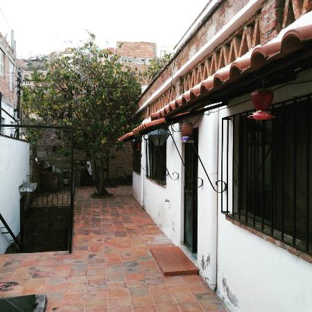 Adelita Language School: The entry level of the school. I would practice taichi here in the afternoon.