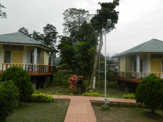 Prashaanti Tourist Lodge: cottage views