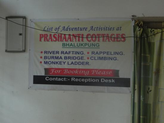 Prashaanti Tourist Lodge: Contact Details