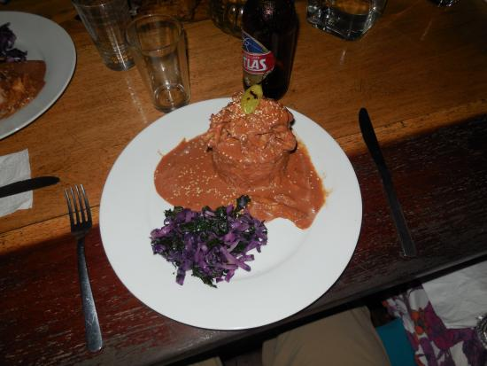 La Loma Jungle Lodge and Chocolate Farm: Mole Chicken. Amazing.