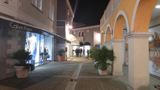Palmanova Outlet Village at the evening 1 - Picture of Palmanova ...