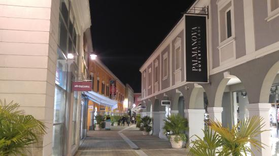 Palmanova Outlet Village at the evening 2 - Picture of Palmanova ...
