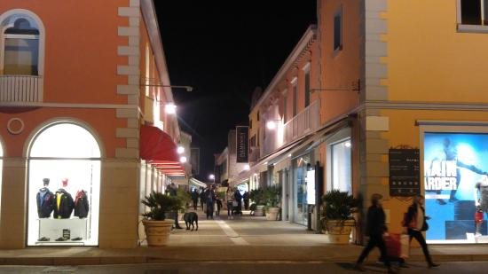 Palmanova Outlet Village at the evening 9 - Picture of Palmanova ...