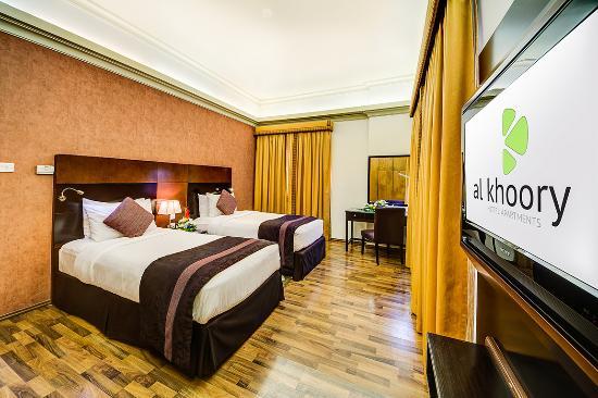 3 bedroom twin rooms picture of al khoory hotel apartments dubai rh en tripadvisor com hk