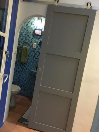 Le Rayon Vert : Porte coulissante à la salle de bain