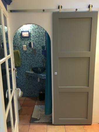 Le Rayon Vert : vue salle de bain Emeraude