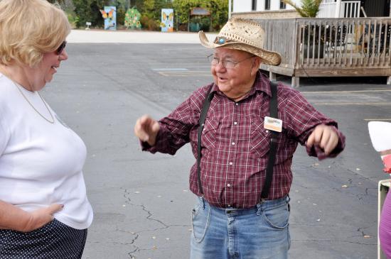 Bradenton, FL: Our tour guide