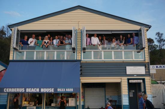 wedding party  picture of cerberus beach house, black rock, Beach House/