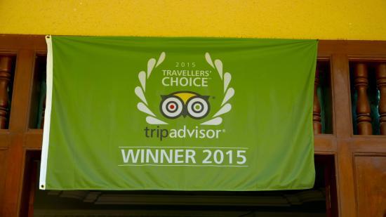 Mayfair Angkor Villa: trip advisor banner