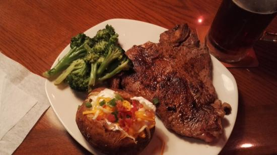 Outback Steakhouse: porterhouse