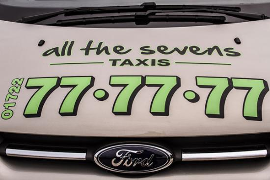 All the Sevens Taxis