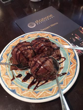 Stazione Restaurant & Coffee bar: the BEST profiteroles