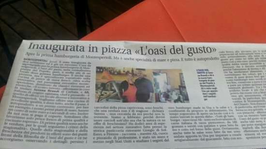Montespertoli, Włochy: L'oasi del gusto