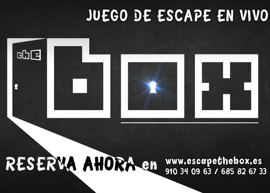 The Box Escape Room Madrid