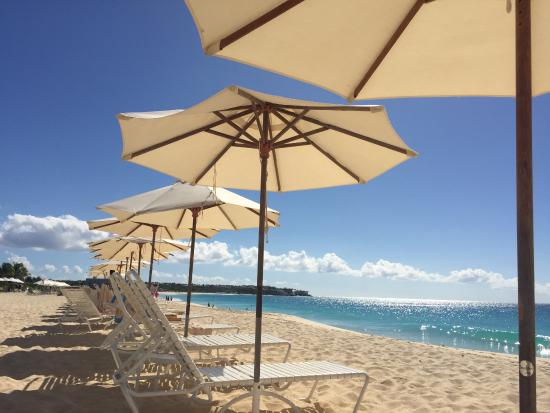 Carimar Beach Club: Your beach chair and umbrella await!