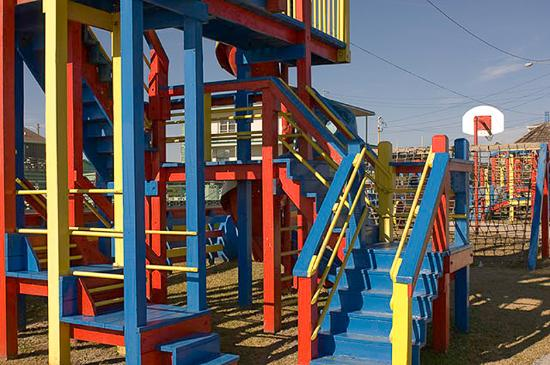 Oceanana Family Motel Playground